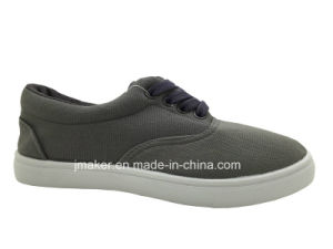 Comfortable Woman Shoes with Canvas Upper (H211-L)