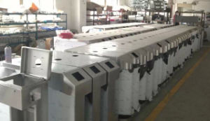 Access Control System Flap Turnstile Enter and Exit Automatic Flap Barrier pictures & photos