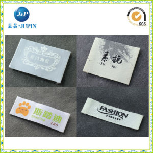 Wholesale Custom Colorful High Density Woven Label in Garment Label (JP-CL066) pictures & photos