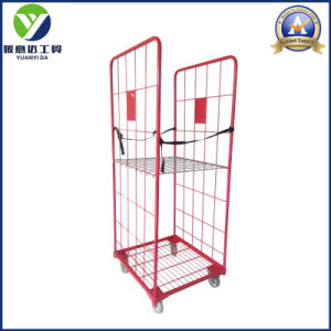 2-Sides Warehouse Folding Collapsible Roll Pallet Container pictures & photos