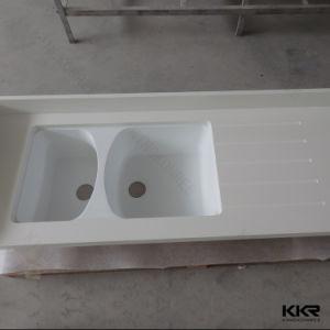 Prefab Engineered Stone Artificial Quartz Stone Kitchen Island Countertop pictures & photos