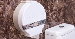 Hot Selling Plastic Jumbo Toilet Paper Dispenser for Commercial Use (KW-519) pictures & photos