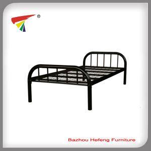 2017 Metal Single Steel Bed Bedroom Bed (HF019) pictures & photos