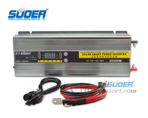 2000W DC to AC Solar Power Inverter with Charger (HBA-2000C) pictures & photos