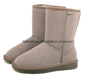 OEM High Quality Warm and Comfortable Winter Shoes Snow Boots for Women (FF93-1) pictures & photos