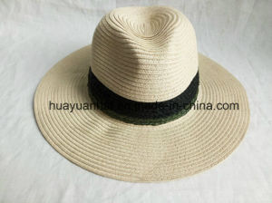 60%Paper 30%Raffia Straw 10%Polyester Leisure Style Safari Hats pictures & photos