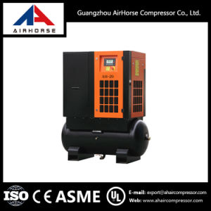 Screw Air Compressor with Tank Ah-20 15kw/20HP pictures & photos