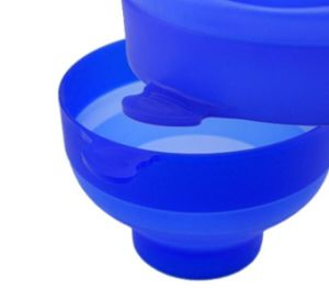 Foldable Microwave Silicone Popper Bowl pictures & photos