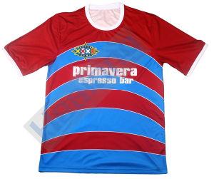 Healong Sportswear Custom Digital Sublimation Printed Cheap Football Uniforms pictures & photos