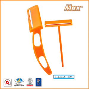 Single Stainless Steel Blade Disposable Razor for Prison (LS-1090) pictures & photos