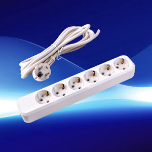 European Extension Socket with Grounding (YW5816-A) pictures & photos