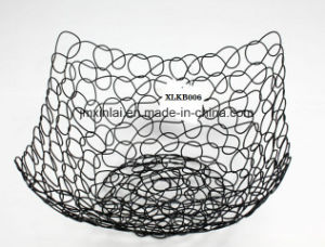 Fresh Elegance Metal Fruit Basket Wire Baske