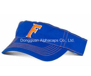 2016 Great Fashion Florida Blue Sun Visor Caps pictures & photos