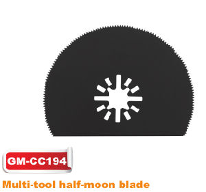 High Quality Multi-Tool Half-Moon Blade (GM-MC194) pictures & photos