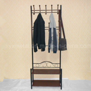 Living Room Furniture Metal Bag Clothes Garment Coat Hanger Shoe Rack