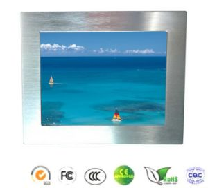 Silver Color 17 Inch Industrial Fanless Touch Panel Computer pictures & photos