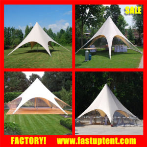650GSM PVC Fabric High Peak Stretch Star Shade Party Tent pictures & photos