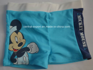 Boy Boxer Swimwear with Colorful Cartoon pictures & photos
