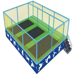 Huge Indoor Trampolines with Ball Pool pictures & photos