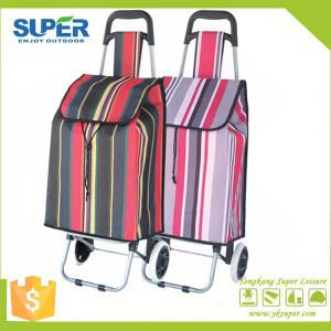 Foldable Shopping Trolley Bag (SP-525) pictures & photos