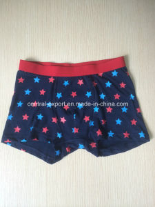 Allover Star Printed Boy Boxer Brief pictures & photos