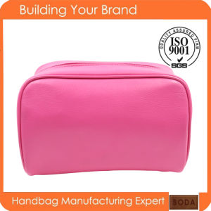 High Quality Promotional Clear Cosmetic Bags Wholesale Clear Cosmetic Bag Cute Cheap Makeup Bags pictures & photos