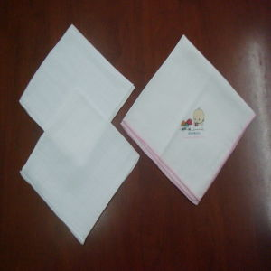 Wholesale High Quality Super Soft Muslin Bamboo Fiber Muslin Cloth pictures & photos