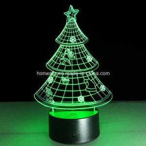 2016 Christmas Gifts 3D Visual LED Night Lights