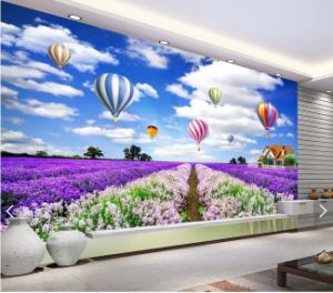 Digital Printing/Large Format/Seamless/Photo Vinyl Wall Paper pictures & photos