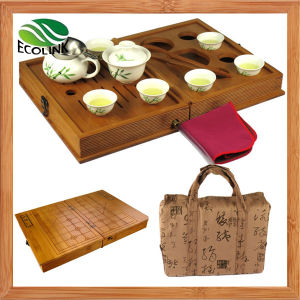 Bamboo Portable Travel Tea Box Set pictures & photos