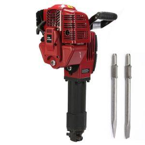 52cc Multi Function Gasoline Concrete Hammer Drill Impact Breaker Breaker Gasoline Picks Stone Breaker Pickaxe pictures & photos