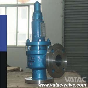 ANSI 1000wog/3000wog/5000wog Flanged Full Lift Safety Valve pictures & photos