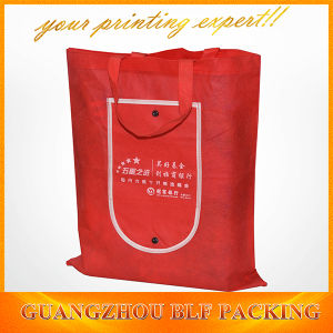 Red Custom Shopping Bags (BLF-NW163) pictures & photos