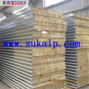 Rock Wool Sandwich Panel System pictures & photos