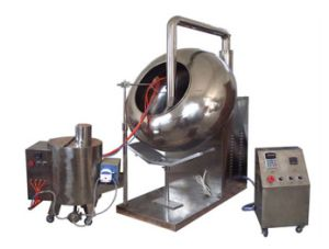 Byc Coating Machine with Peristaltic Pump System pictures & photos