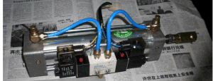 Auto Pneumatic Door Pump for Changan Bus pictures & photos