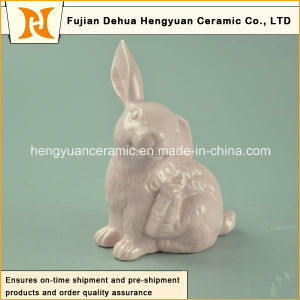 Ceramic Easter Rabbit Figurines for Small Ornament pictures & photos