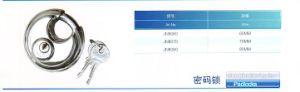 Jn8060 Jn8070 Jn8080 Stainless Steel Disc Lock pictures & photos