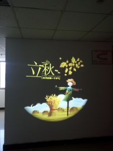 Four Images Change by Turn Sign Company Rent Projector for Advertising 110000 Lumens pictures & photos