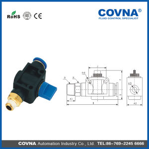 Air Pneumatic Fittings Flexible Connatcors Hvsf Series pictures & photos