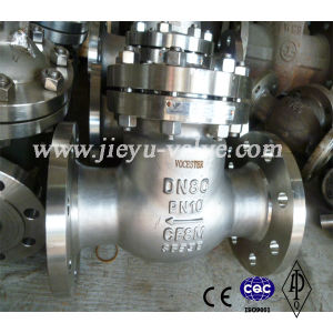 Pn10 Ss CF8m Swing Check Valve with Flange pictures & photos