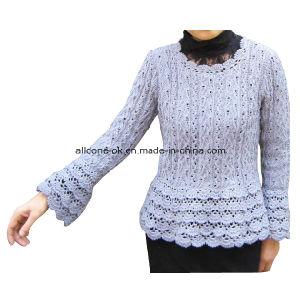 Handmade Crochet Summer Long Sleeve Women Top Dresses Hippy Blouse pictures & photos