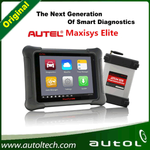 Universal Auto Diagnostic Tool Original WiFi Autel Maxisys Elite with J2534 ECU Preprogramming Box Better Than Maxisys PRO Ms908p pictures & photos