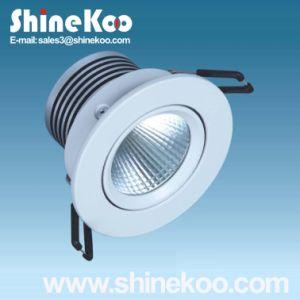 3W Aluminium LED COB Downlight (SUN12-3W) pictures & photos