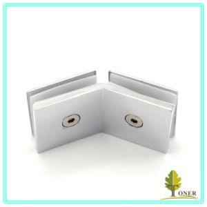 Hot-Sale 135 Degree Arc Edge Square Glass Clamp/ Zinc Alloy Glass Clamp pictures & photos