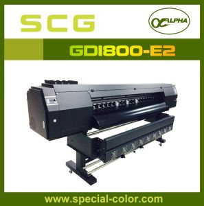 1.8m Solvent Large Format Printer with Double Dx5 Head pictures & photos
