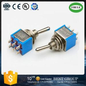 Miniature Toggle Switch, Small Mini Toggle Switch, on-on Toggle Switch pictures & photos