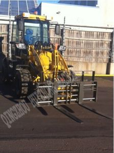 Hzm CE Approved Mini Wheel Loader Zl16 pictures & photos