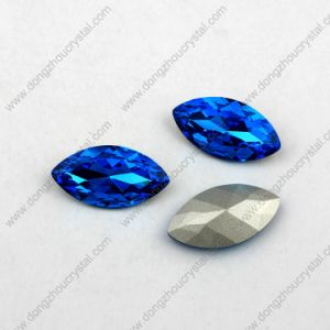 Hot Sell Navette Crystal Rhinestone Glass Bead Sewing Accessories Wholesale Sew on Crystal Beads for Garment Accessory pictures & photos