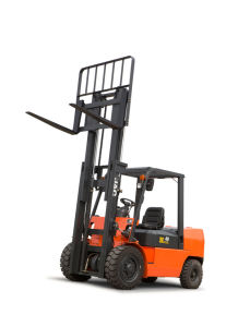 JAC 4ton Diesel Forklift Truck with Triplex 4.5m Lift Height pictures & photos